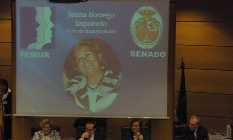 V Congreso Mujer y Parlamento, celebrado en el Senado en Madrid el 1 de Febrero